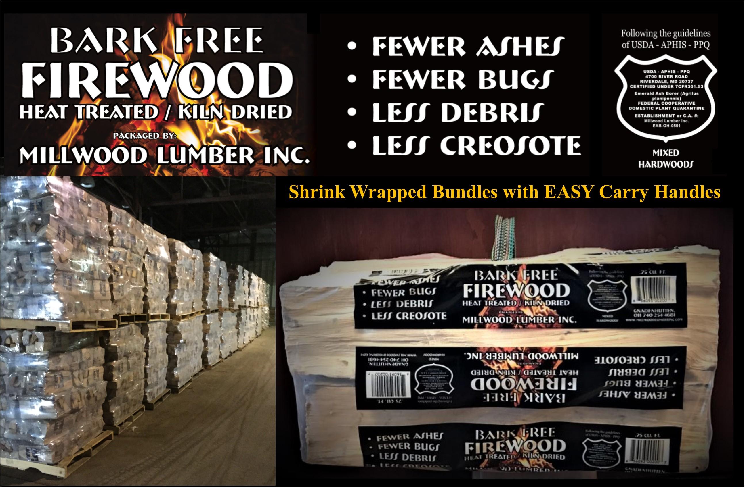 Firewood | Millwood Lumber Inc.
